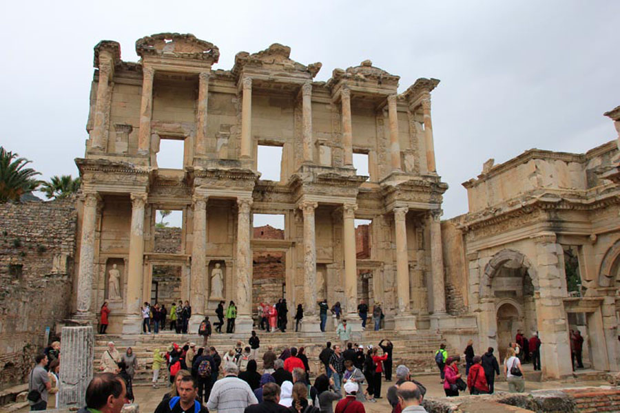 A Grand Ancient City of Ephesus