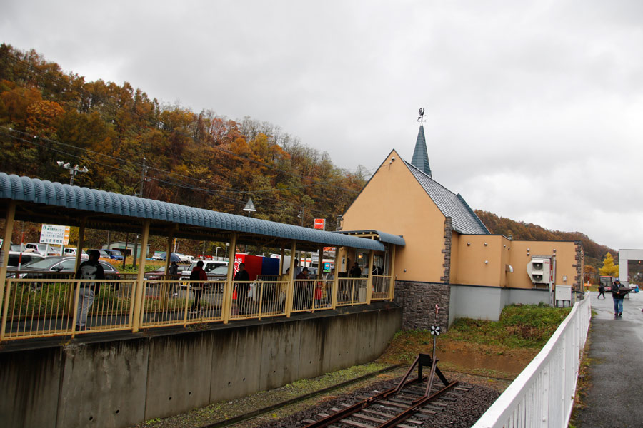 The First and Last Train Trip to Yubari on October 27, 2018