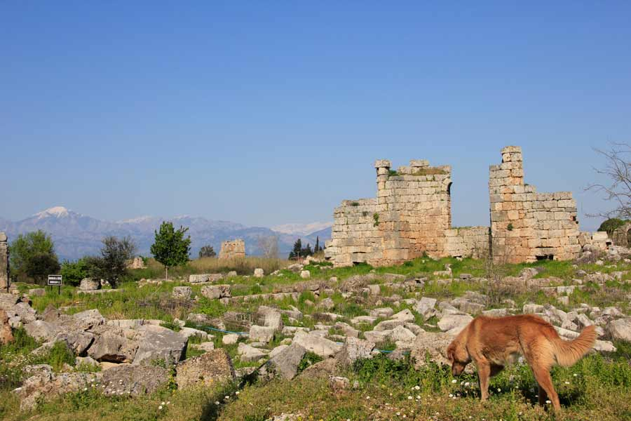The UNESCO Heritage Site of Perge