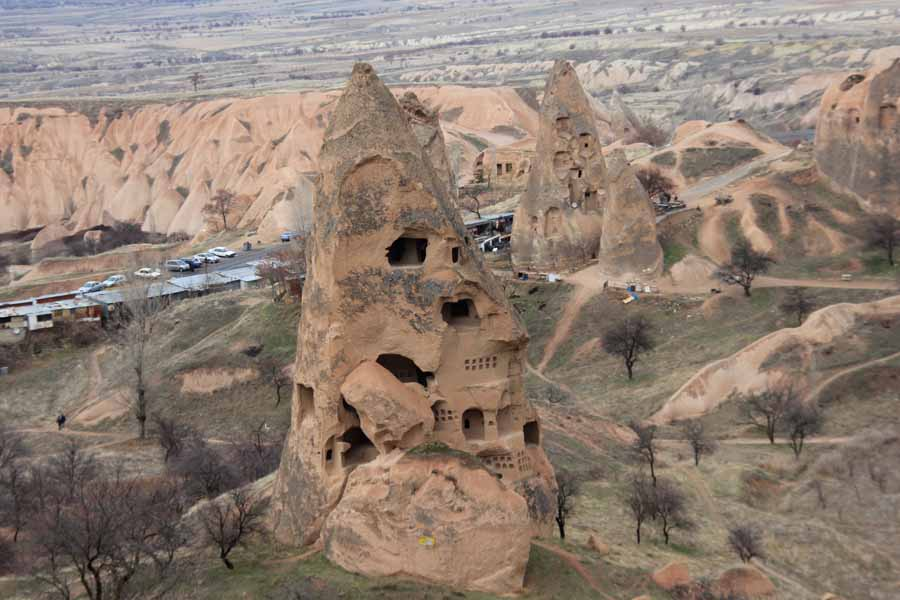 Scenes from the Moonscape District of Cappadocia
