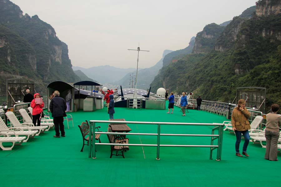 Xiling Gorge and Tribe of the Three Gorges