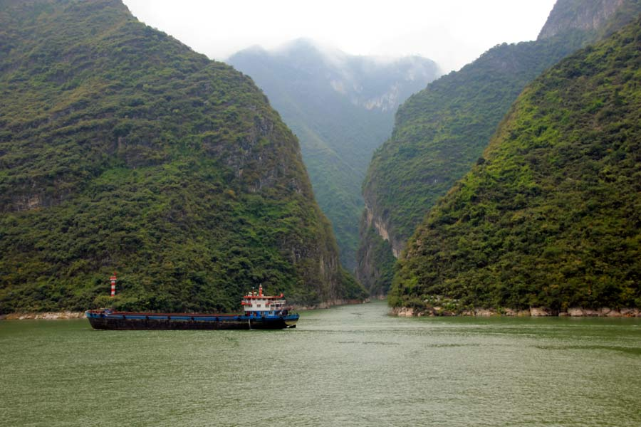 Wu Gorge, Daning River, and Qutang Gorge